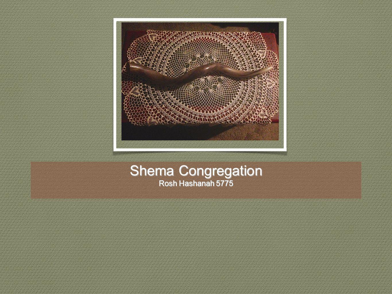 Shema Congregation Rosh Hashanah 5775