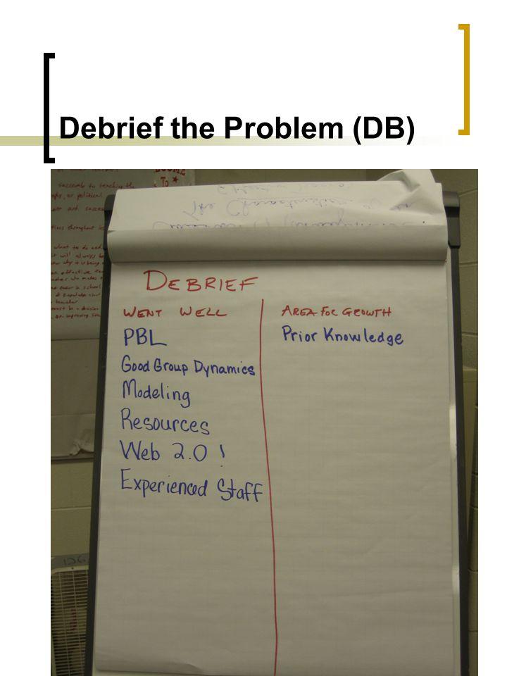 Debrief the Problem (DB)