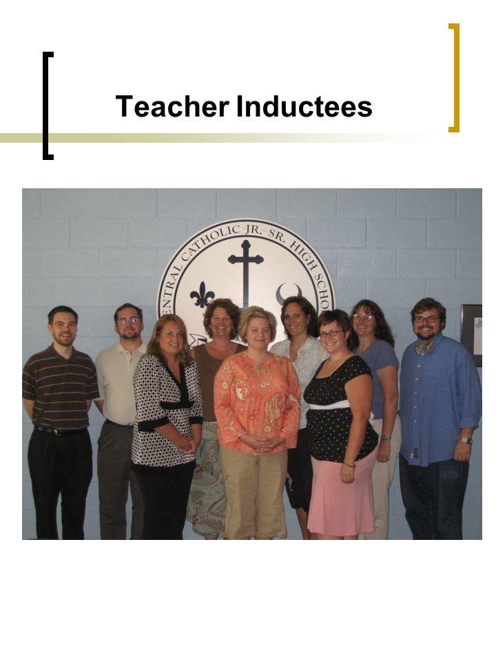 Teacher Inductees