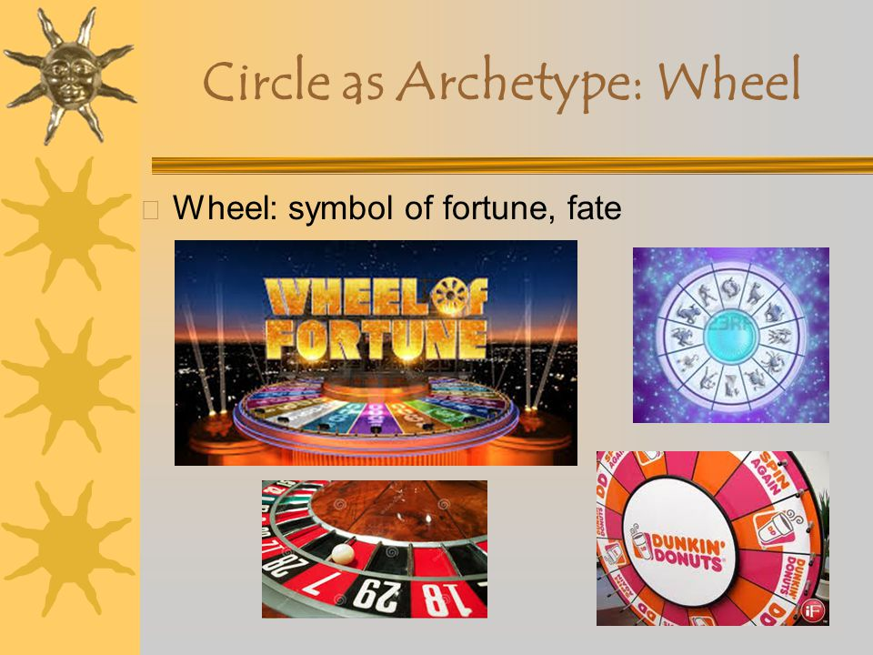 Circle as Archetype X Circle (sphere): wholeness, unity X No beginning or end X Egg (oval): the mystery of life and forces of generation