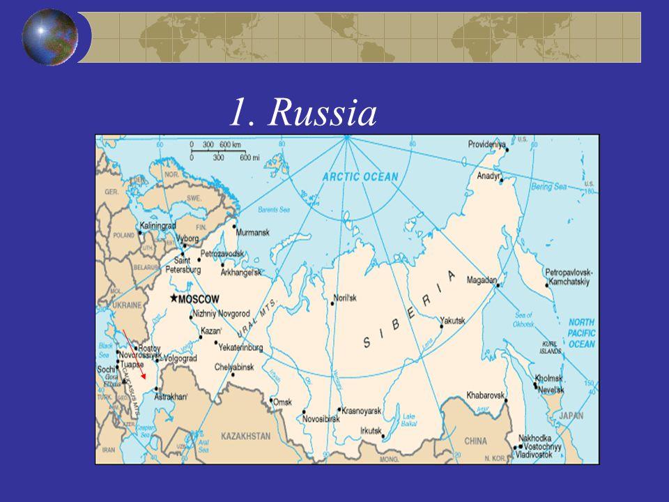 1. Russia