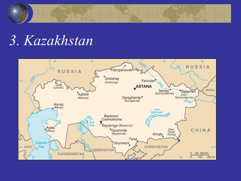 3. Kazakhstan