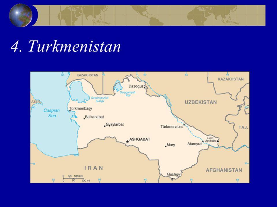 4. Turkmenistan