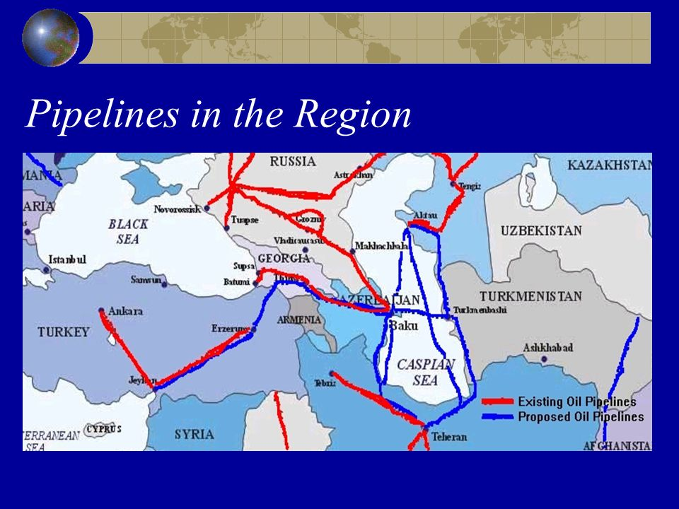 Pipelines in the Region