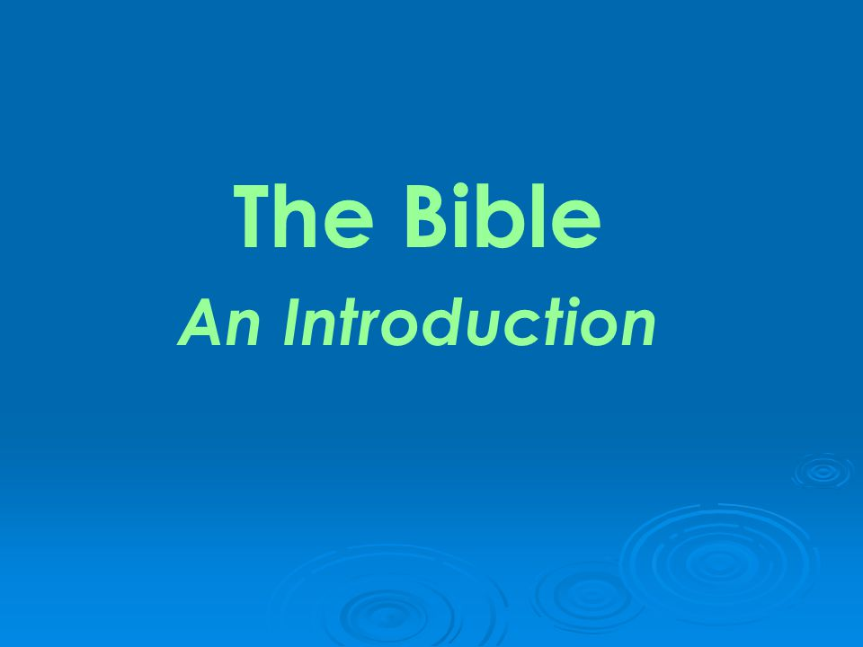  What does Holy Bible mean .The word Bible comes from the Greek word biblos meaning book .