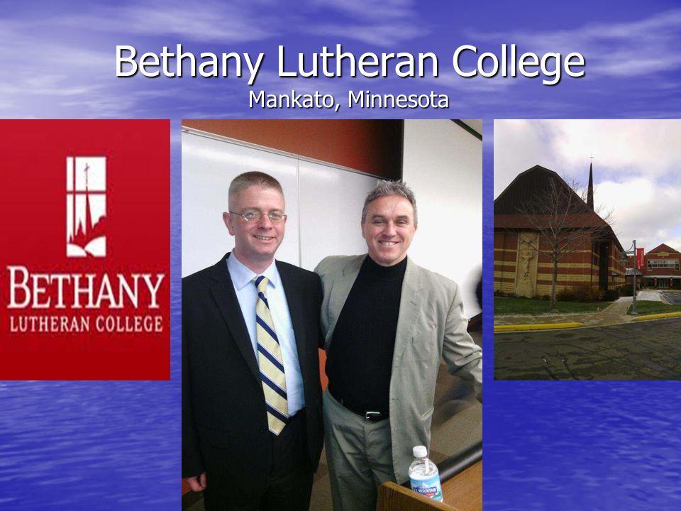 Bethany Lutheran College Mankato, Minnesota