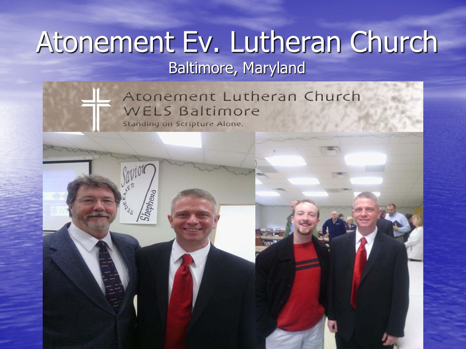Atonement Ev. Lutheran Church Baltimore, Maryland