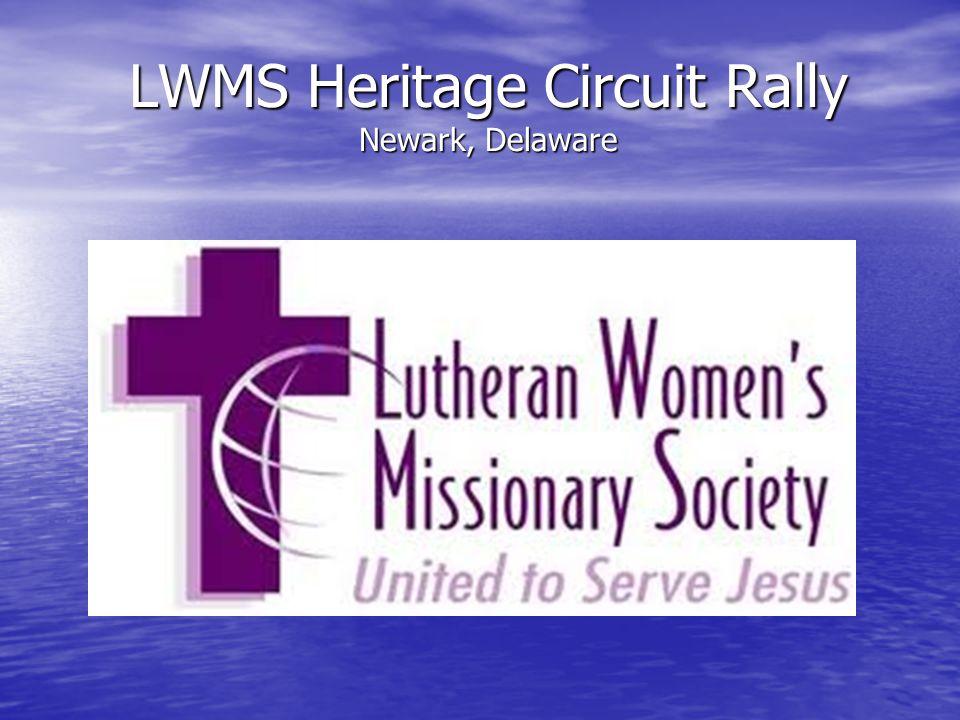 LWMS Heritage Circuit Rally Newark, Delaware