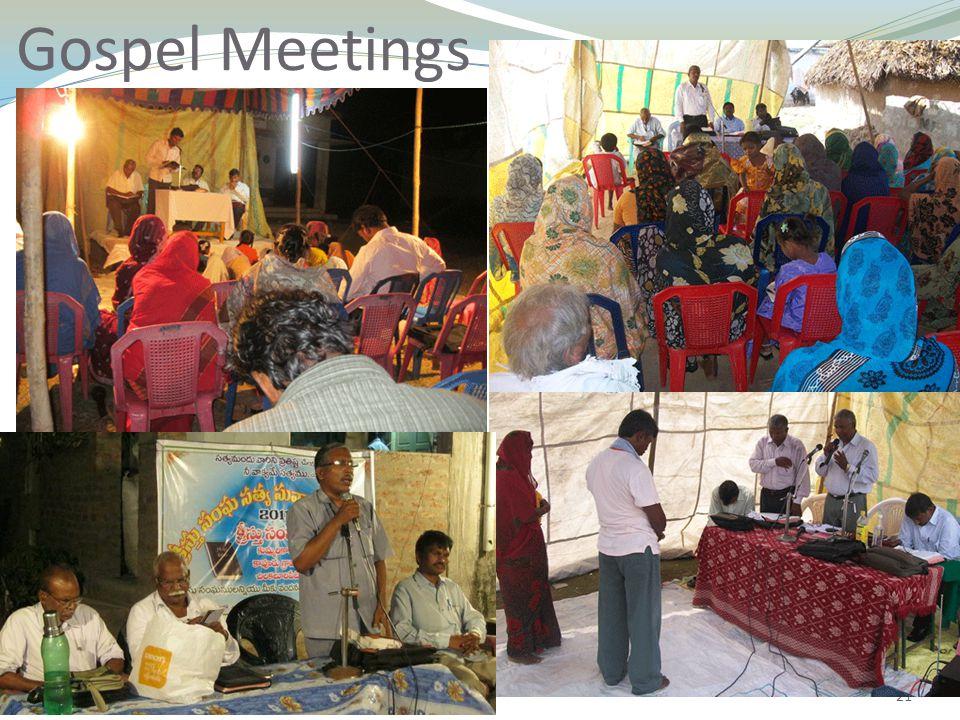 21 Gospel Meetings
