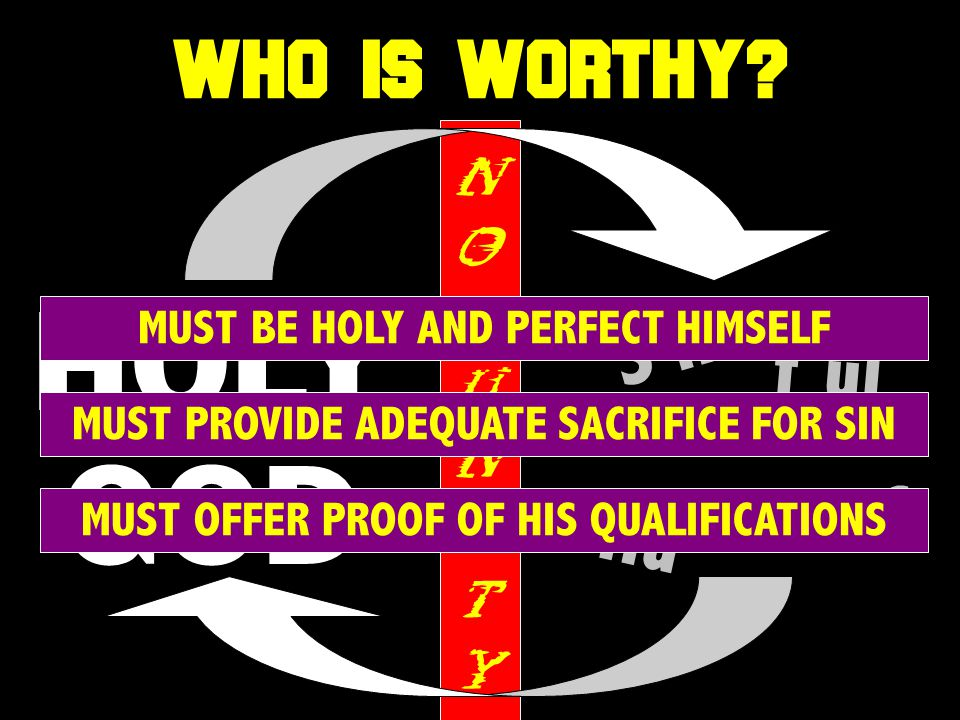 WHO IS WORTHY.