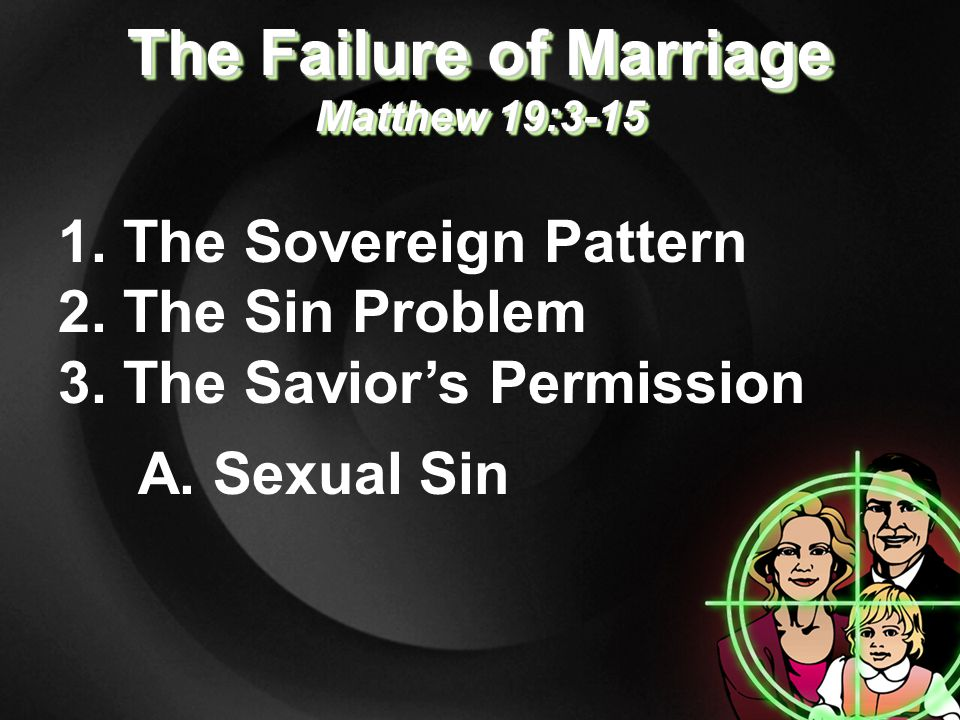 1. The Sovereign Pattern 2. The Sin Problem 3.