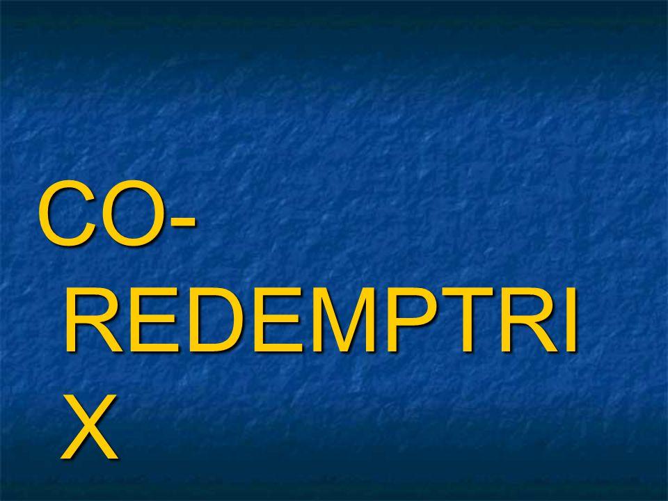 CO- REDEMPTRI X