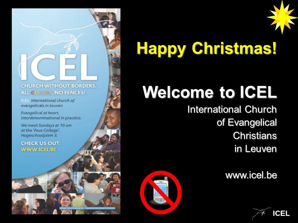ICEL Happy Christmas.