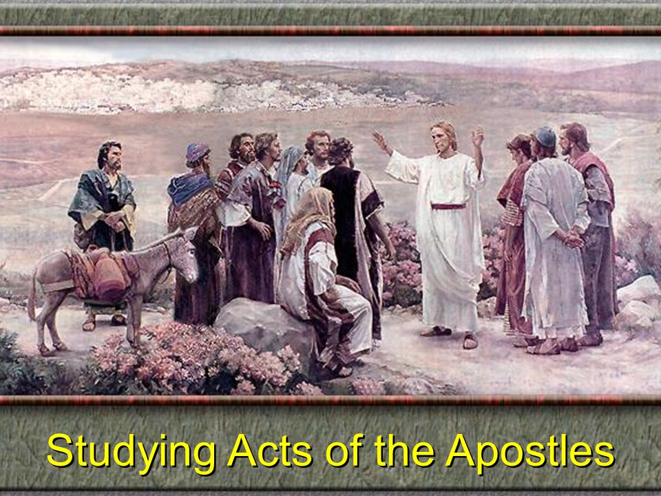 Waiting for the Spirit Acts 1:12-26 Waiting for the Spirit Acts 1:12-26 The Faithfulness of the Apostles (Acts 1:12-14) The Faithfulness of the Apostles (Acts 1:12-14) The Faithlessness of the Apostate (Acts 1:15-26) The Faithlessness of the Apostate (Acts 1:15-26) Their Return (12) Judas' Sin Reviewed (15-20) Their Reverence (13, 14)