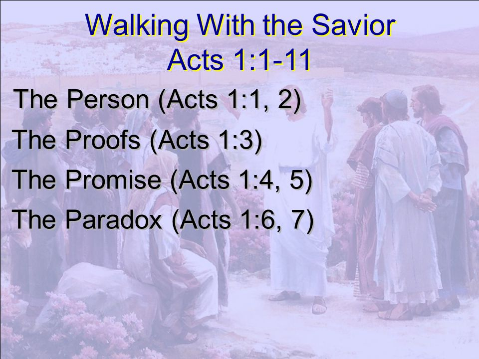 Then returned they unto Jerusalem from the mount called Olivet, which is from Jerusalem a sabbath day s journey.