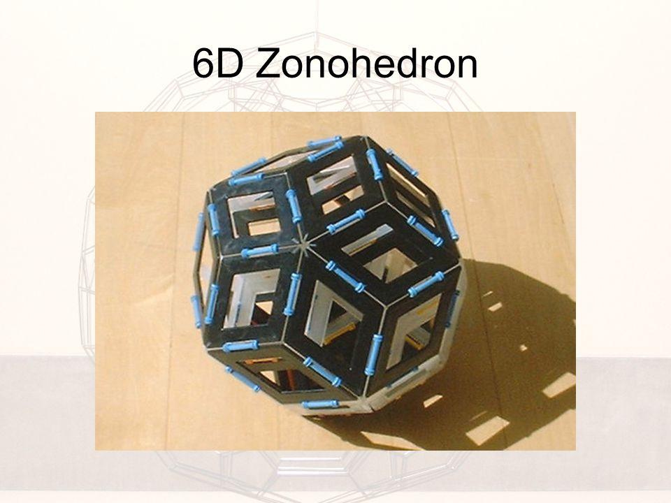 6D Zonohedron