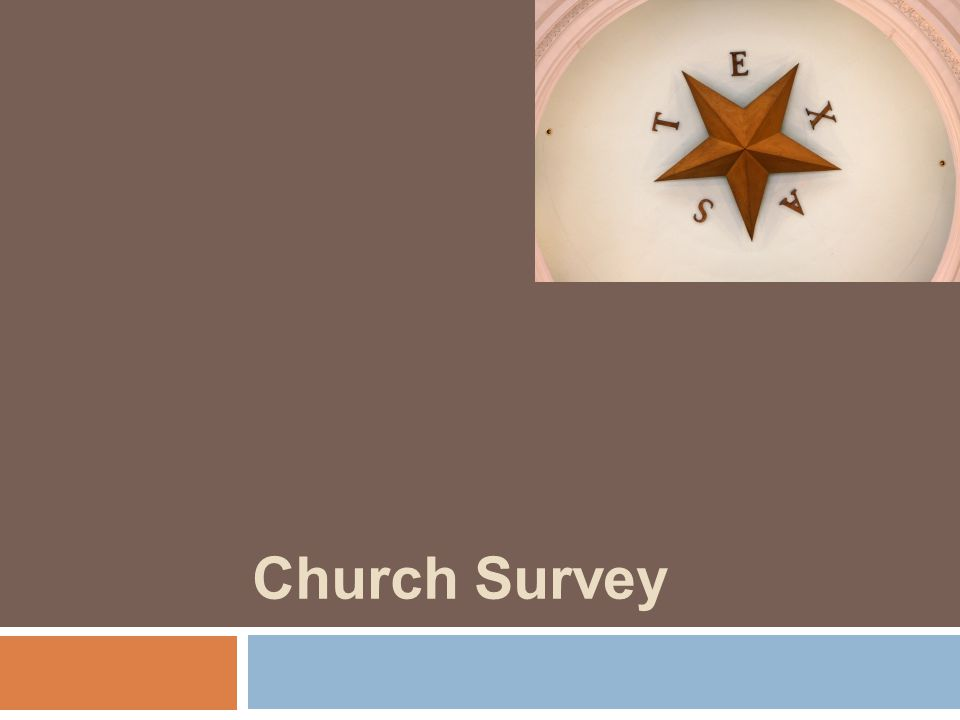 Church Survey
