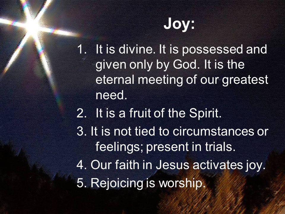 Good News of Great Joy J esus O Y ou