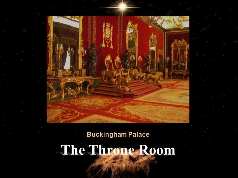 Buckingham Palace The Throne Room