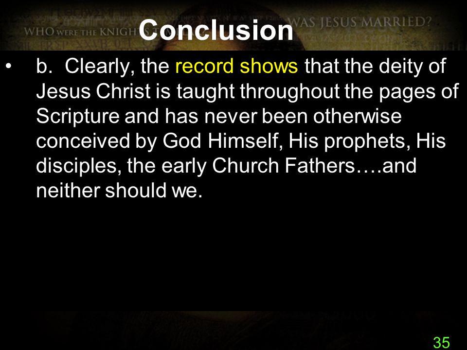 35 Conclusion b.