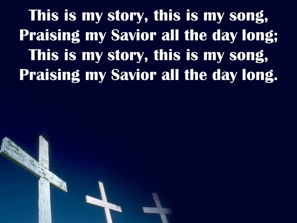 Perfect submission, all is at rest, I in my Savior am happy and blest, Watching and waiting, looking above, Filled with His goodness, lost in His love.