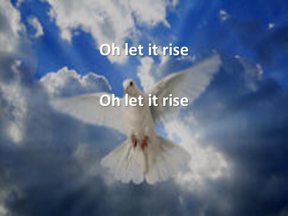 Oh let it rise