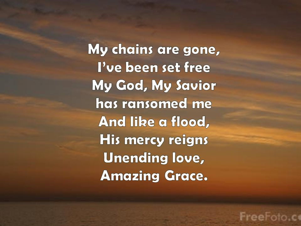 JESUS MESSIAH He became sin who knew no sin That we might become His righteousness He humbled Himself and carried the cross Love so amazing