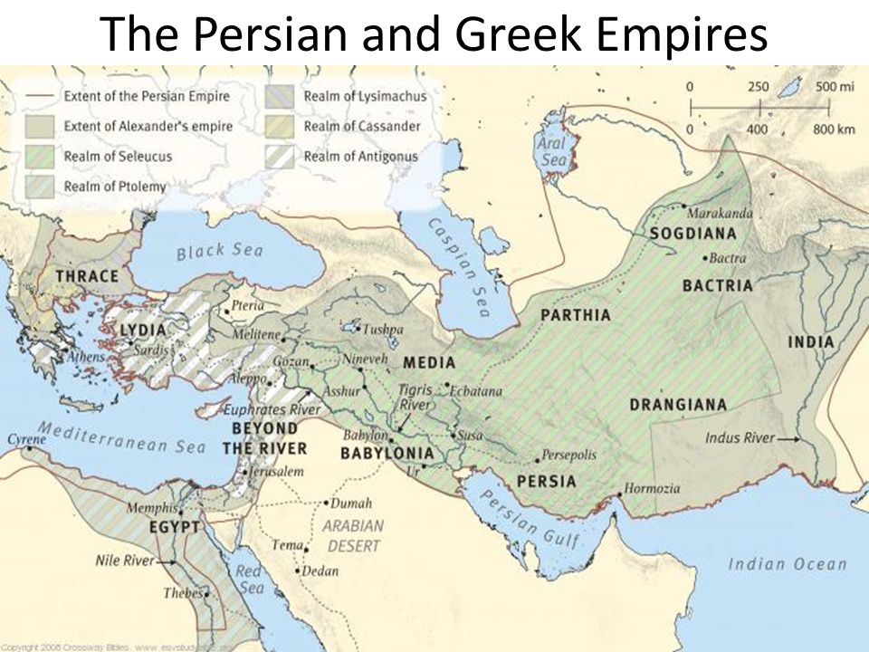 The Persian and Greek Empires