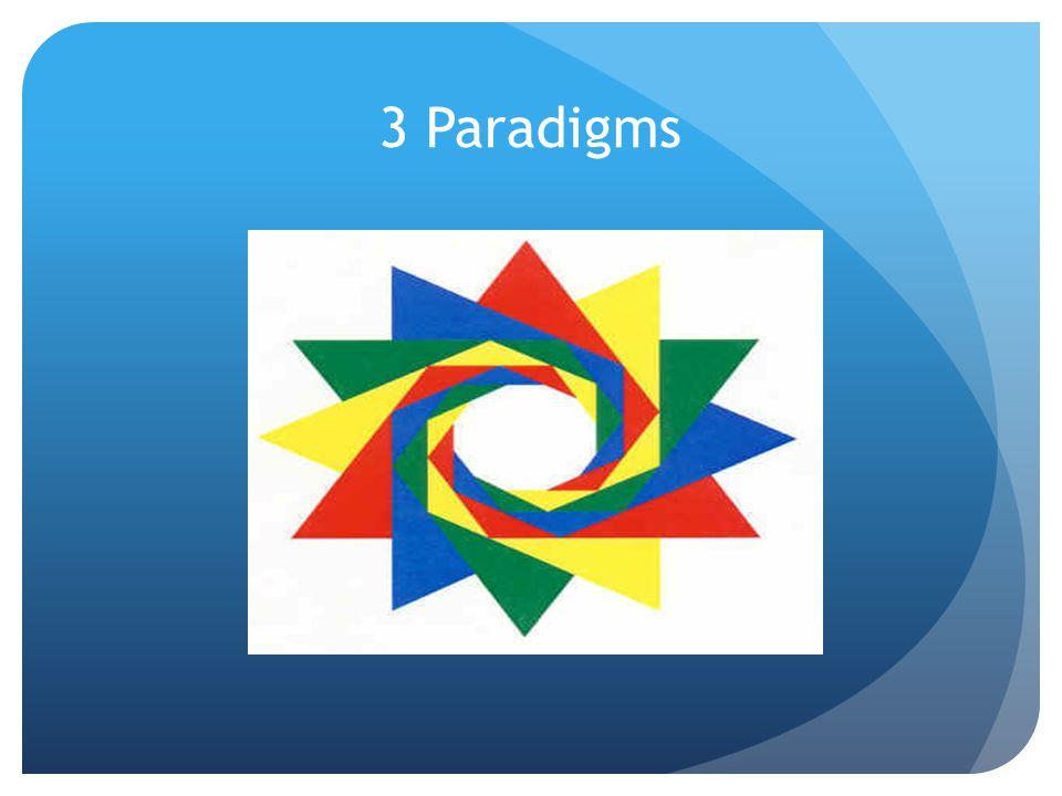 3 Paradigms