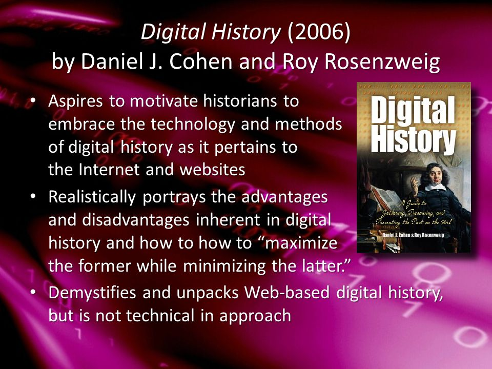 Digital History (2006) by Daniel J.