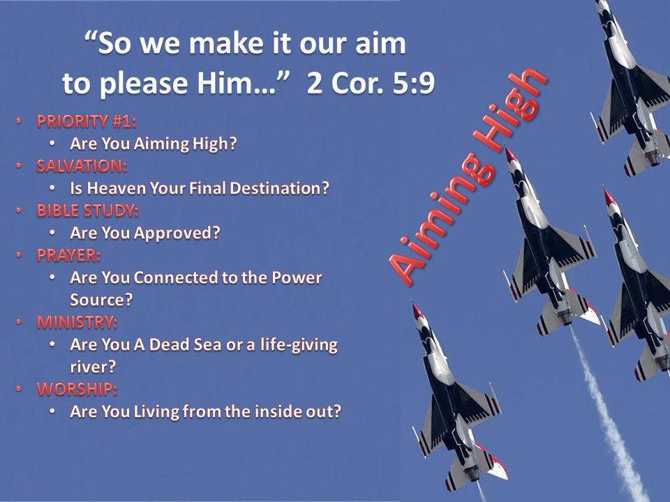 Colossians 3 2 Corinthians 5 Matthew 6
