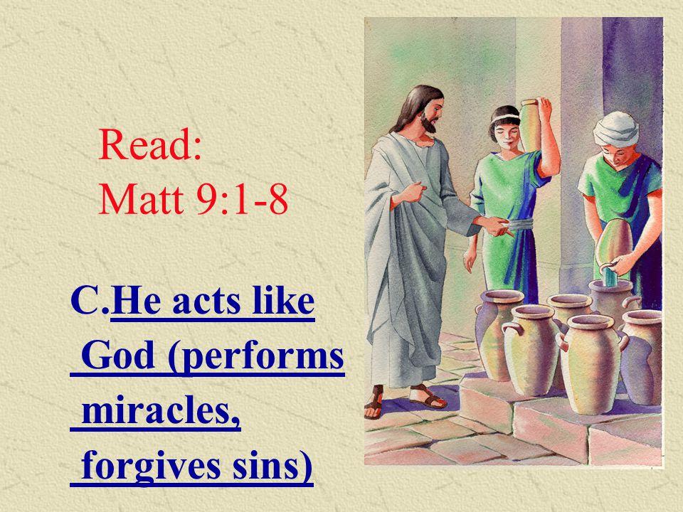 Read: Jn 1:1-2 B.