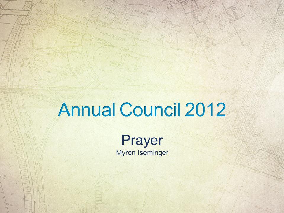 Prayer Myron Iseminger