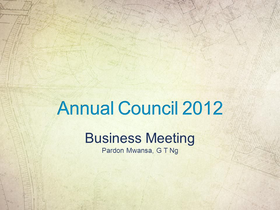 Business Meeting Pardon Mwansa, G T Ng