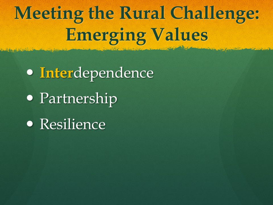 National Resources Rural & Small Town Mission.LCMS national ministry.