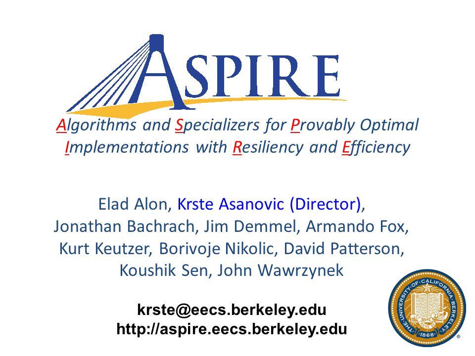 UC Berkeley Future Application Drivers 2