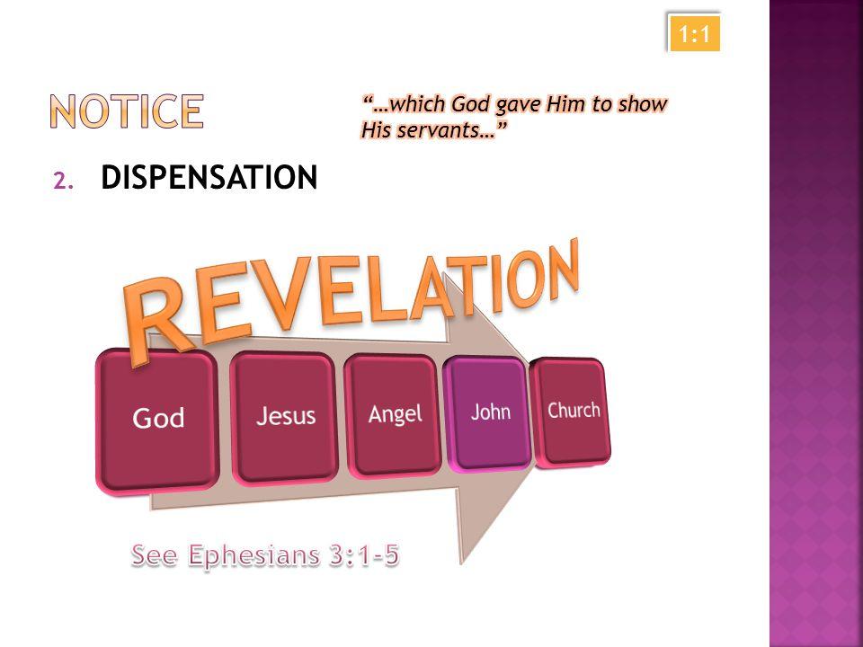 2. DISPENSATION 1:1