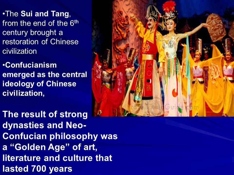 Out of the Chaos: The Sui Dynasty After the collapse of the Han dynasty around 200 CE, China suffered from more than 300 years of civil war, strife, and instability ( Era of Division – 220-581 CE) The Sui dynasty wasn't a savior but it did bring some stability to the region