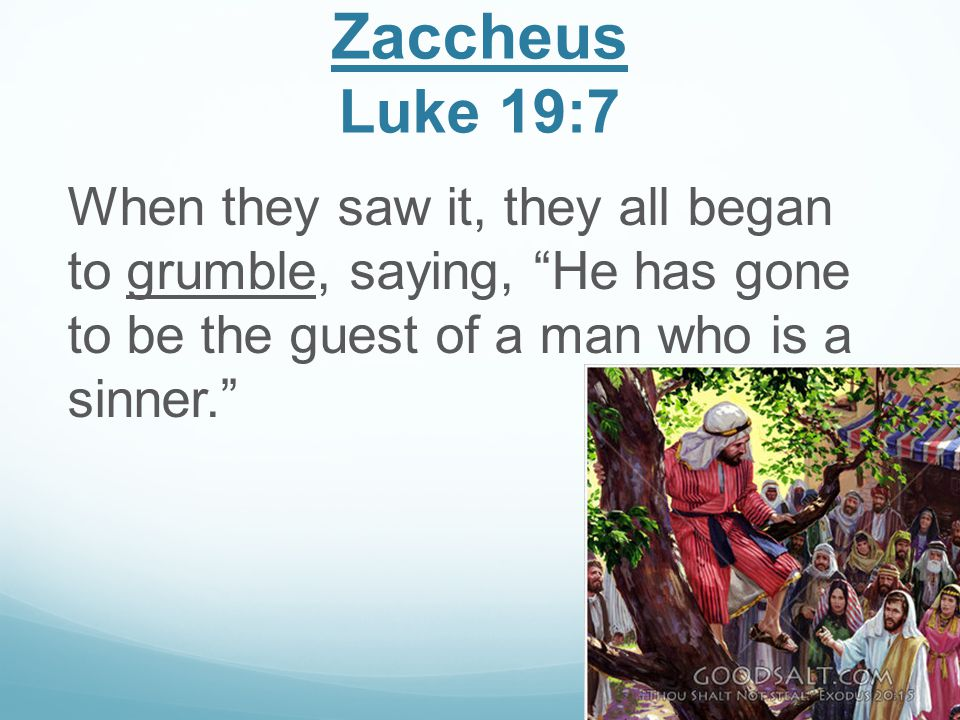 Rich Young Ruler Luke 18:26-27 They who heard it said, Then who can be saved? But He said, The things that are impossible with people are possible with God.