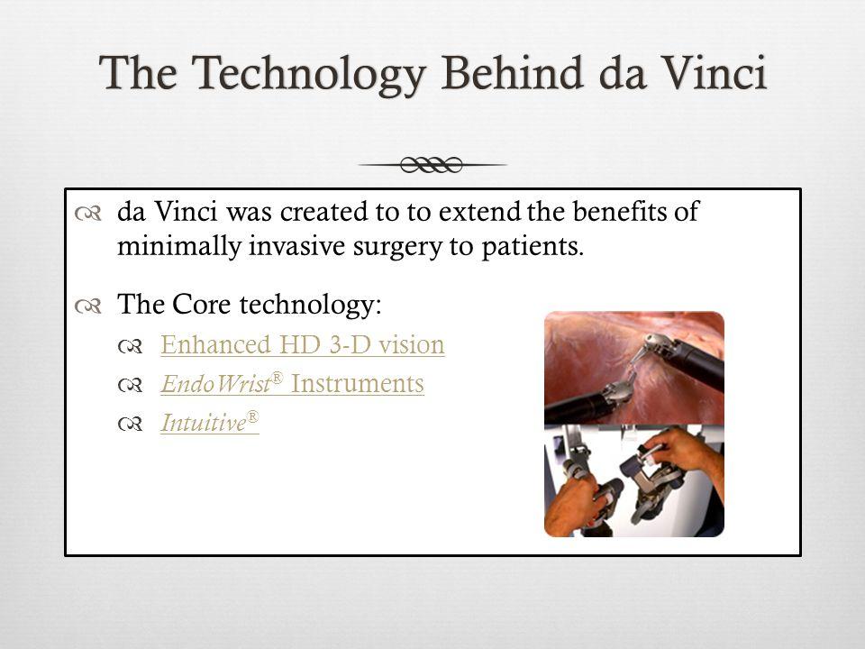 How The da Vinci WorksHow The da Vinci Works
