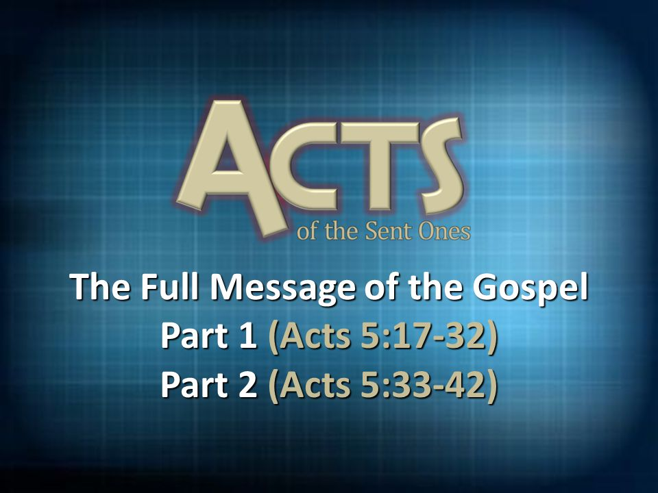 The Gospel must be learned 2 Timothy 1:9-10 (NLT) 9 For God saved us and called us to live a holy life.