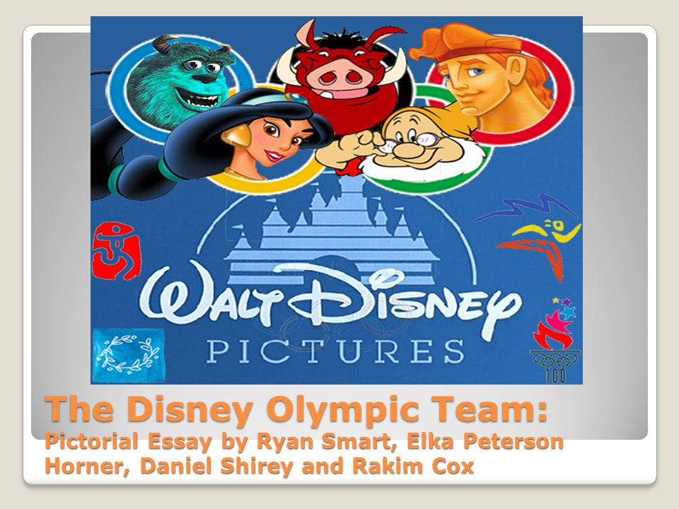The Disney Olympic Team: Pictorial Essay by Ryan Smart, Elka Peterson Horner, Daniel Shirey and Rakim Cox