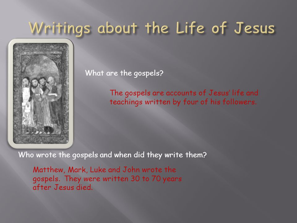 According to the gospels, an angel appeared to Jesus' mother, Mary, to tell her that she would bear God's son.