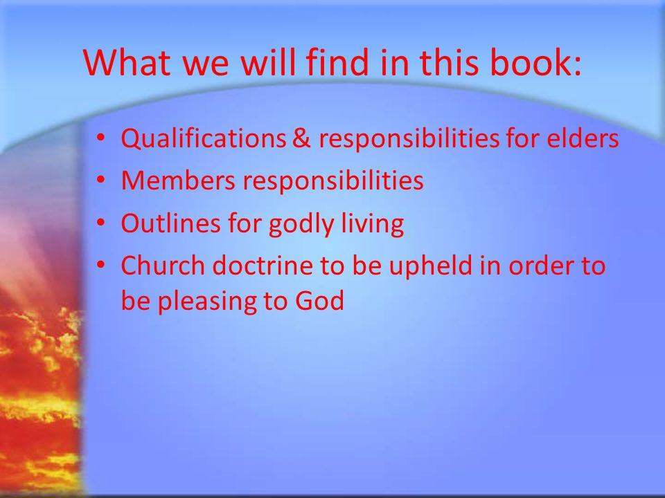 About the Author (1:1-3) a.Paul a bondservant of God (vs.