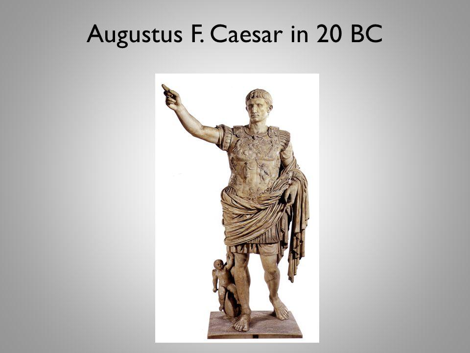 Augustus F. Caesar in 20 BC