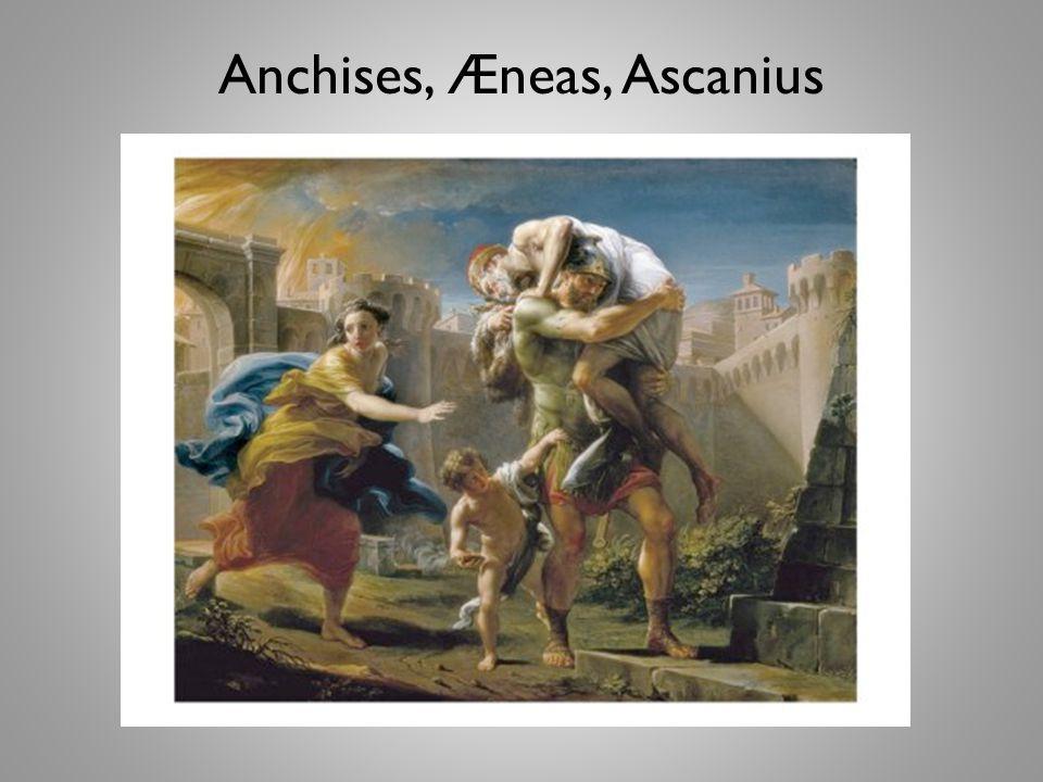 Anchises, Æneas, Ascanius