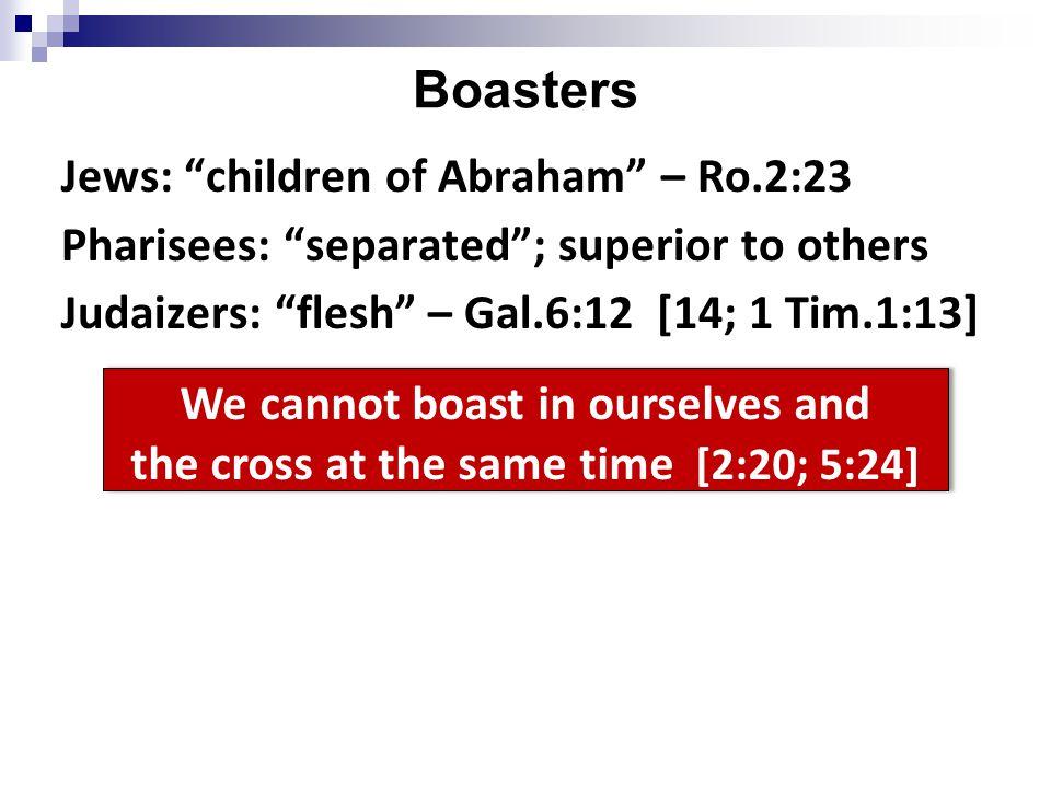 Why boast.1. Revealed God's love to world. Ro.3; 6 2.