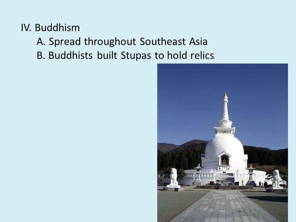 III. Buddhism split A.Theravada = old teachings 1.
