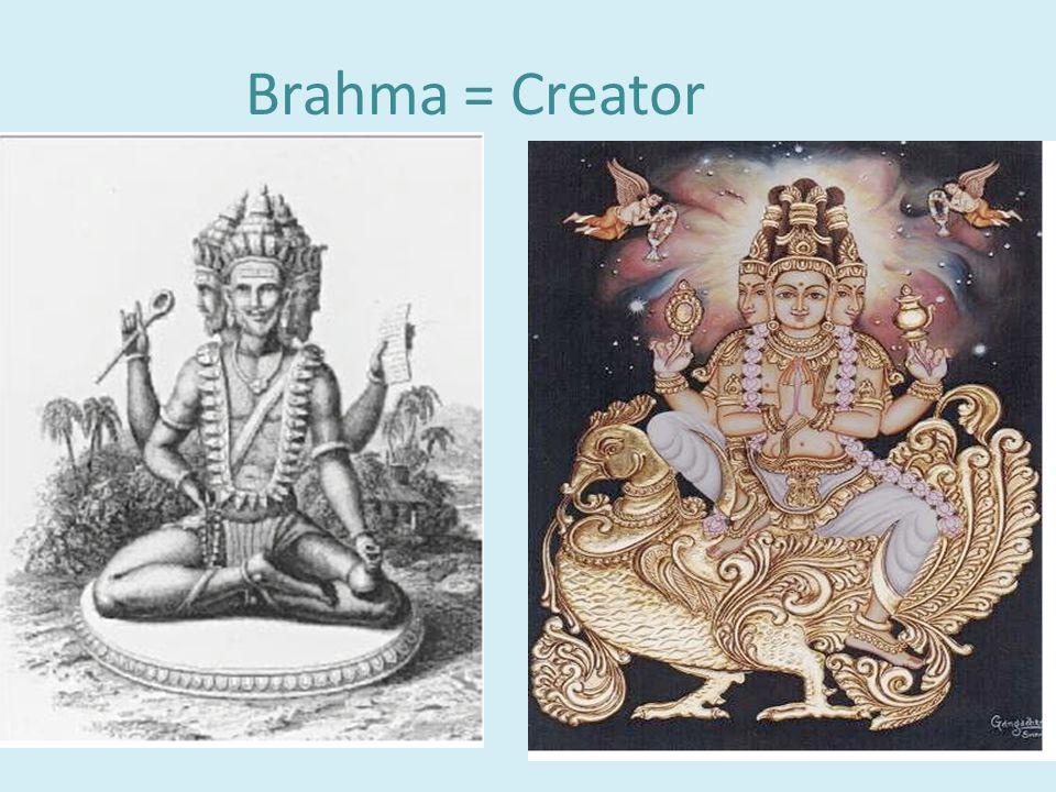 D. Polytheistic = worship of many gods 1. Gods: a.