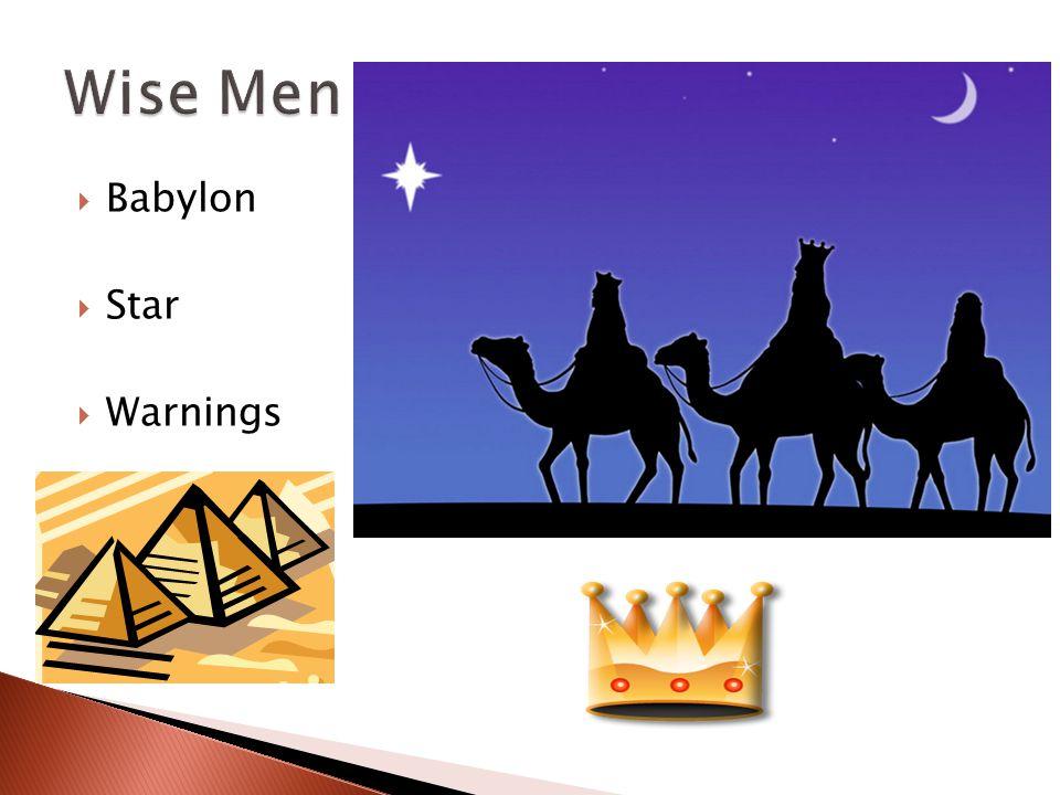  Babylon  Star  Warnings